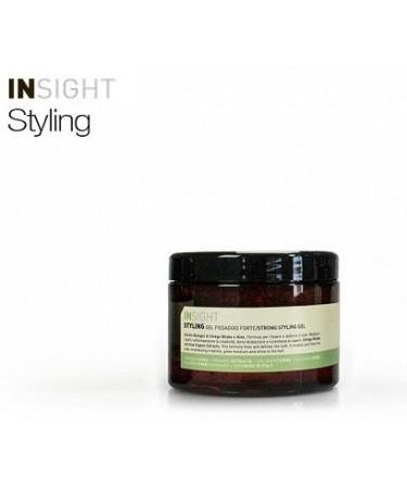 Insight STRONG STYLING GEL - mocny żel do stylizacji włosów 500 ml