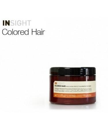 Insight COLORED HAIR - maska ochronna do włosów farbowanych 500 ml