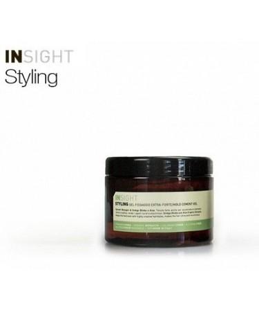 Insight HOLD CEMENT GEL - bardzo mocny żel do stylizacji włosów 500 ml