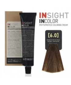 Fitoproteinowy krem koloryzujący 6.0 natural, dark blond INSIGHT 100g