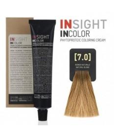 INSIGHT Fitoproteinowy krem koloryzujący 7.0 Natural Blond 100 ml