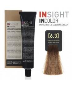 INSIGHT Fitoproteinowy krem koloryzujący 6.3 Golden, Dark Blond 100 ml