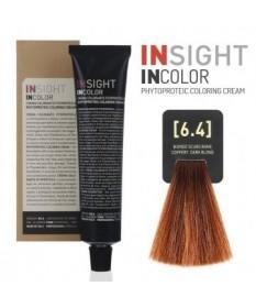Fitoproteinowy krem koloryzujący 6.4 coppery, dark blond INSIGHT 60g
