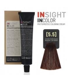 INSIGHT Fitoproteinowy krem koloryzujący 5.5 Mahogany Light Brown 100 ml