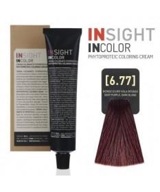 Fitoproteinowy krem koloryzujący 6.77 deep purple, dark blond INSIGHT 100g