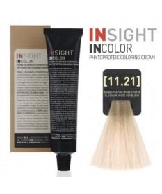 Fitoproteinowy krem koloryzujący 11.21 platinum, irisee ash blond INSIGHT 100g