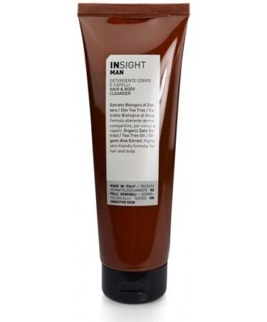 Hair & Body Cleanser - Żel do mycia ciała i włosów Insight MAN 250ml