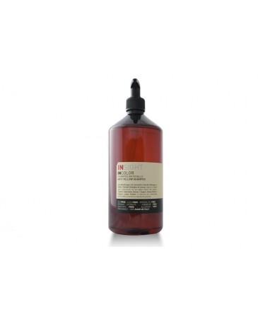Insight ANTI-YELLOW - szampon do włosów blond wybijający żółte refleksy 900 ml