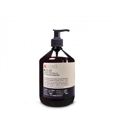 Insight Anti-Yellow 500 ml - szampon wybijający żółte refleksy