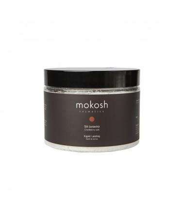 "MOKOSH - sól do kąpieli i peelingu ""Żurawina"" 600 g"