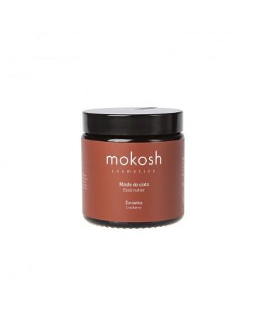 """MOKOSH - masło do ciała """"Żurawina"""" 120 ml"""