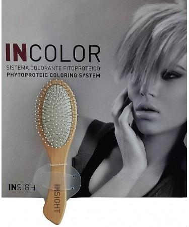 Insight STYLING - drewniana szczotka do włosów