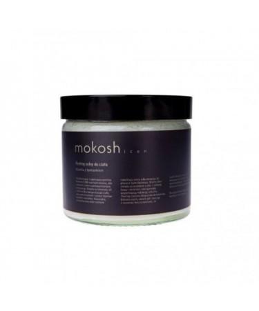 MOKOSH ICON - zestaw masło do ciała wanilia z tymiankiem 120 ml +  peeling solny do ciała wanilia z tymiankiem 30 ml