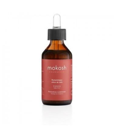 """MOKOSH - ujędrniający eliksir do ciała """"Pomarańcza"""" 100 ml"""