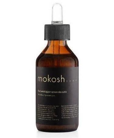 MOKOSH ICON zestaw rozświetlające serum do ciała wanilia z tymiankiem 100 ml + peeling solny wanilia z tymiankiem 30 ml