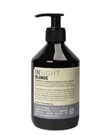 Insight Blonde Szampon Rozświetlający do Włosów Blond 400 ml