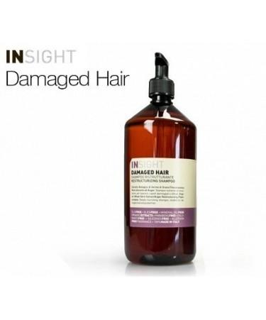 Insight DAMAGED HAIR - szampon odbudowujący do włosów zniszczonych 900 ml