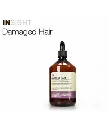 Insight DAMAGED HAIR - odżywka odbudowująca do włosów zniszczonych 400 ml