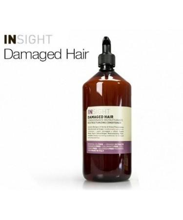 Insight DAMAGED HAIR - odżywka odbudowująca do włosów zniszczonych 900 ml