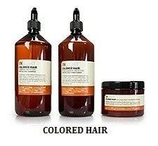 Włosy farbowane COLORED HAIR